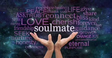 Searching for My Soulmate Word Cloud