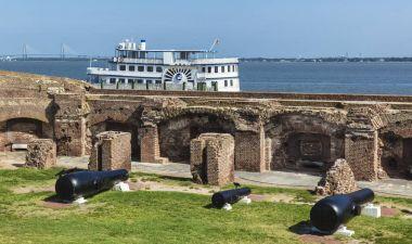 Fort Sumter, South Carolina, USA