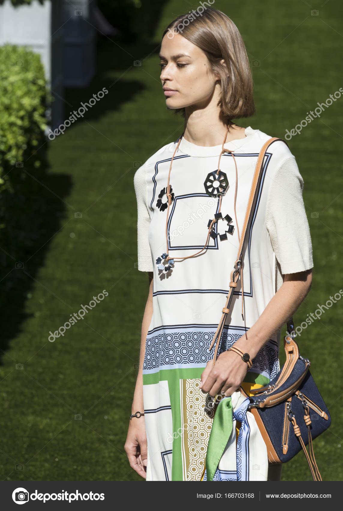 Tory Burch show - Spring Summer 2018, New York Fashion Week