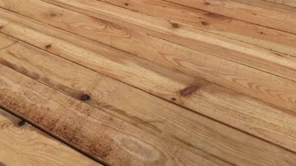 Kiefernbohlen hautnah für Texturen