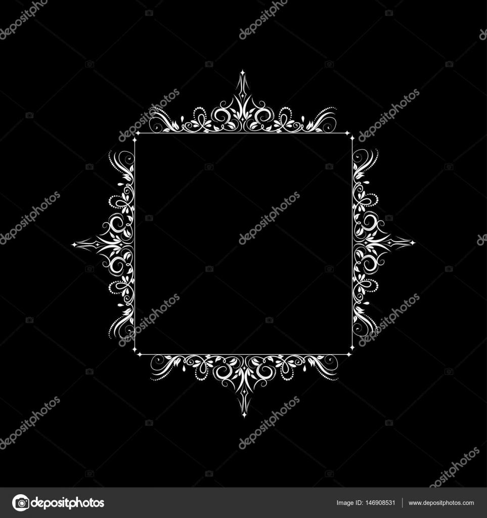 marco barroco Vintage — Archivo Imágenes Vectoriales © bastinda18 ...