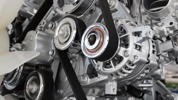 Auto motor closeup, součástí auto motor