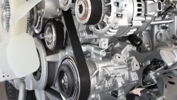 Car engine closeup, Part of car engine