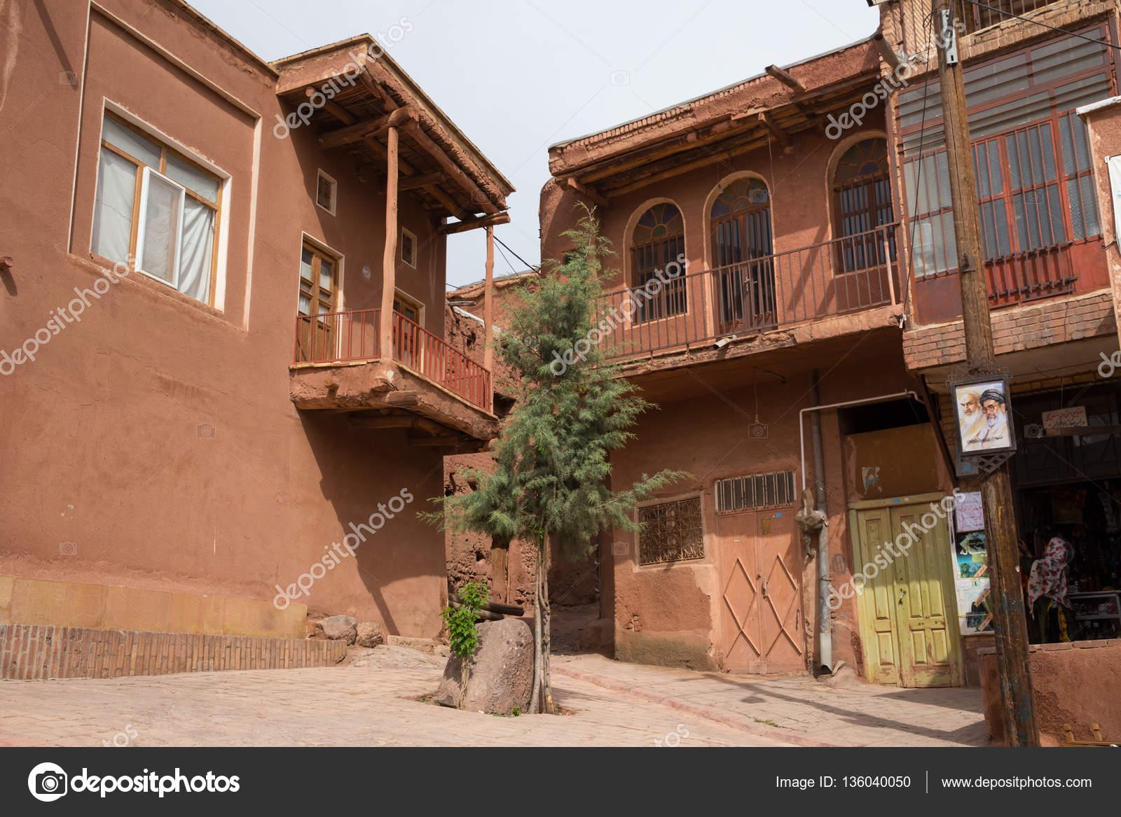 Case Di Mattoni Di Fango : I tipici mattoni di fango rosso case nellantico villaggio di