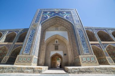 Nadir Divanbegi Medressa of Bukhara, in Uzbekistan