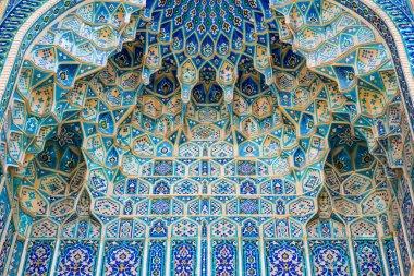 Ak-Saray Mausoleum in Samarkand, Uzbekistan