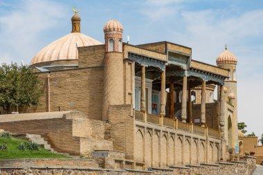 The beautiful Hazrat-Hizr Mosque in Samarkand, Uzbekistan