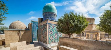 Shah-i-Zinda, avenue of mausoleums in Samarkand, Uzbekistan