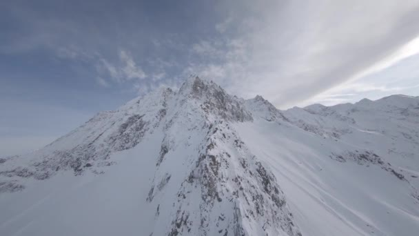Alps, Italy, Drone FPV, Color flat