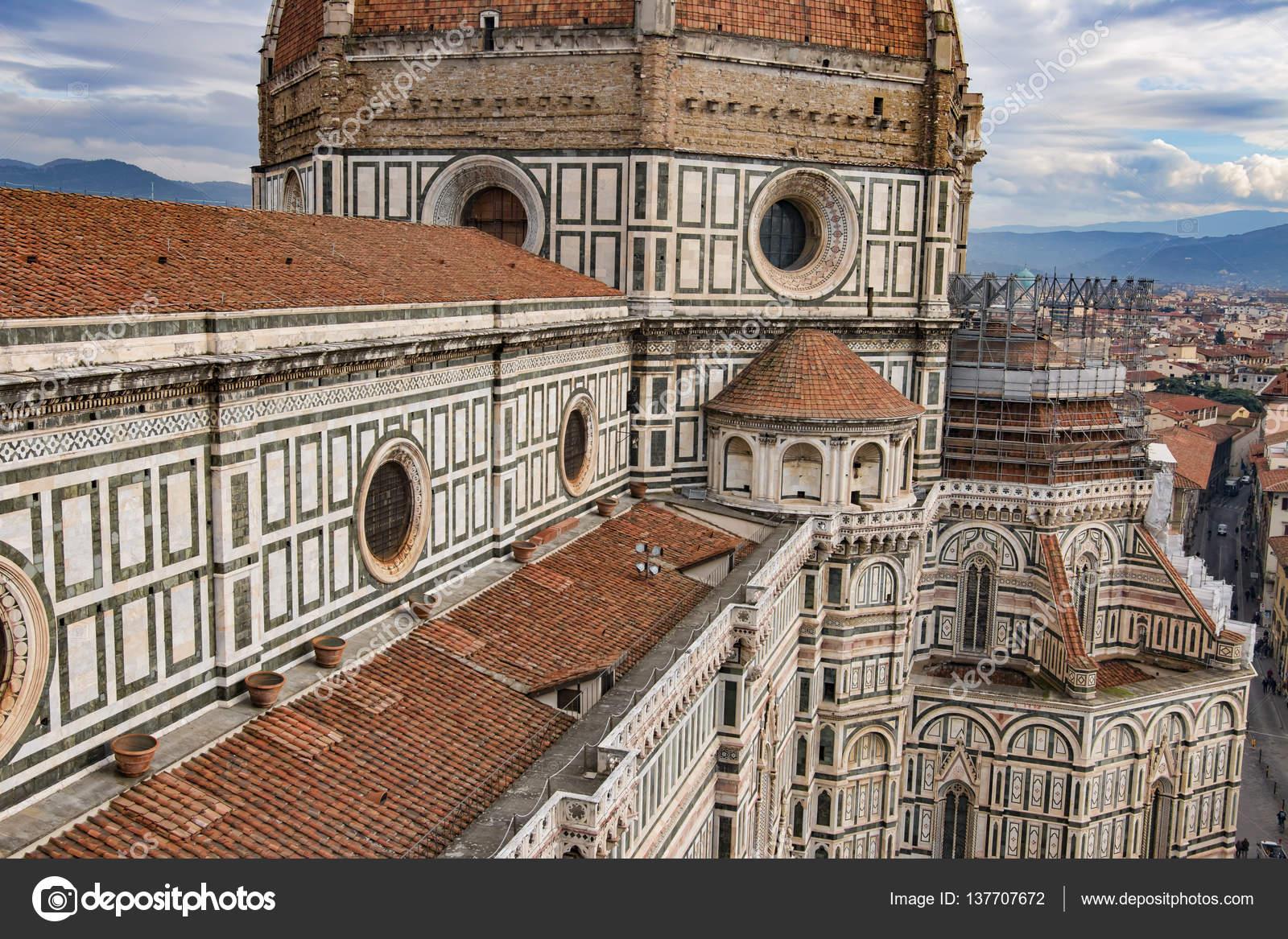 Italien Florens Katedralen Santa Maria Del Fiore