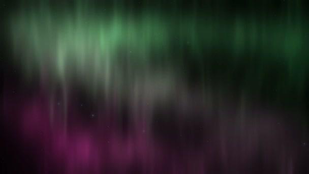 Aurora Boreale Borealison Uno Sfondo Del Cielo Stellato Verde E