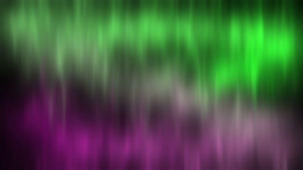 Aurora Boreale Aurora Borealis Uno Sfondo Del Cielo Stellato Verde