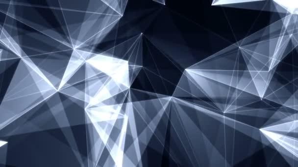 Tvořili futuristické technologie molekulární Plexus abstraktní pozadí.