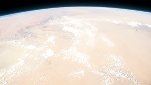 Der Planet Erde von der internationalen Raumstation aus gesehen. schönen Planeten Erde aus dem All beobachtet. nasa Zeitraffer schießen Erde aus dem All. Elemente dieses Videos von nasa