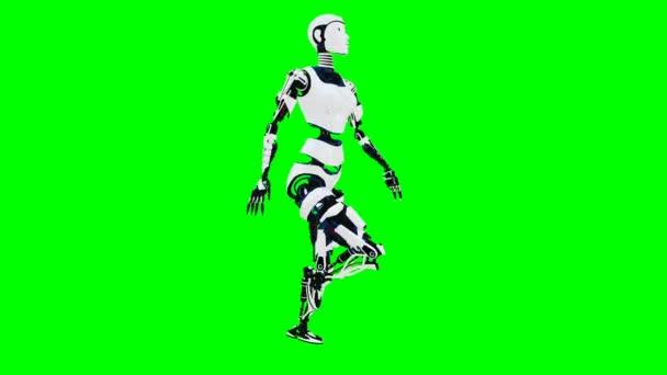 Видео сексуальная женщина робот