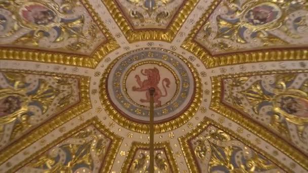 VALLETTA - MALTA, April, 2018: Interior of St Johns Co-Cathedral - Valletta, Malta.
