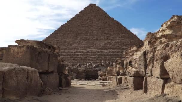 Velké pyramidy v údolí Gízy, Káhira, Egypt