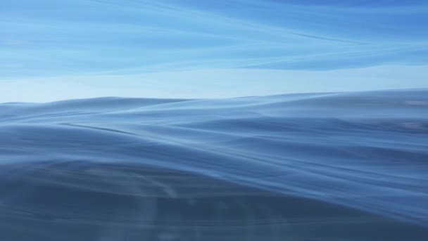 Toto video smyčka funkce vlny vody v pohybu a je ideální pro vaše scénické skladby.