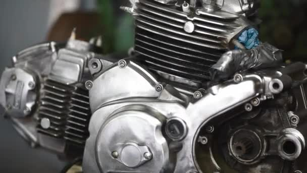 Motorcycle Engine Ducati Stock Video C Aeroegor 145798269