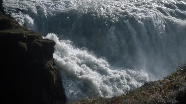Obrovský vodopád v pomalém pohybu