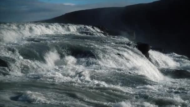 Riesenwasserfall in Zeitlupe