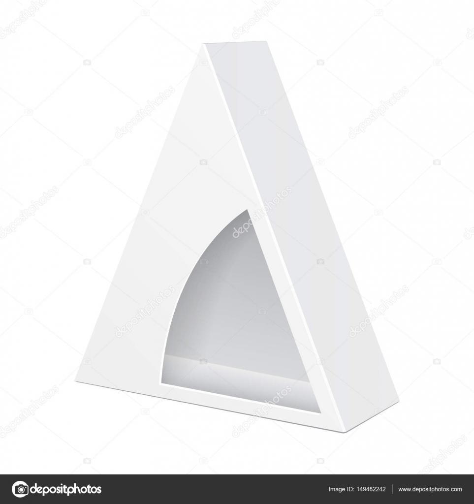 Triangular Gift Box Template from st3.depositphotos.com