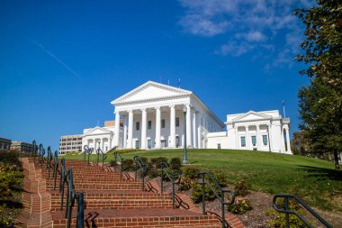 The State Capital building in Richmond Virginia