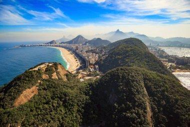 Copacabana Beach and Ipanema beach in Rio de Janeiro, Brazil