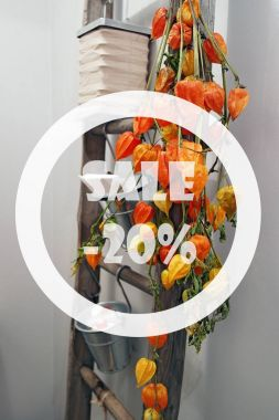 Autumn sale 20 percent