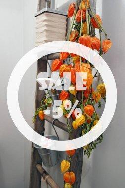 Autumn sale 5 percent
