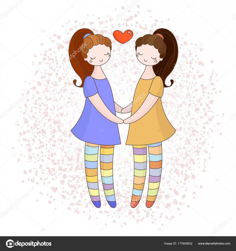 Lesbin dívky