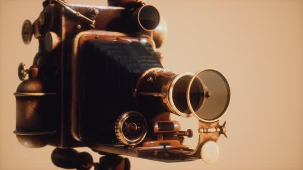 Antik régi retro fotó fényképezőgép