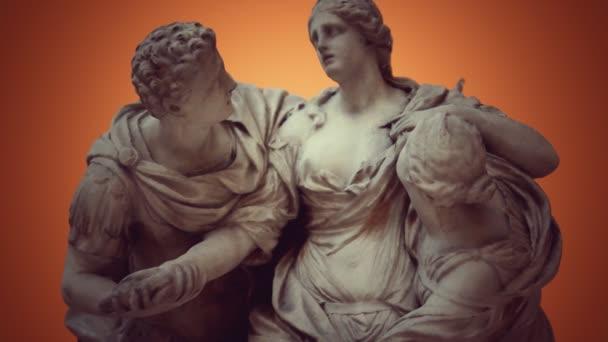 Arria und Poetus antike Statue
