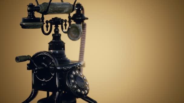 retro starý telefon