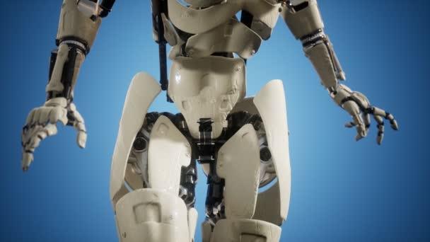 Cyborg nő gépi testrészével
