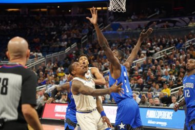Orlando Magic host the Milwaukee Bucks at the Amway in Orlando Florida on Saturday February 8, 2020.  Photo Credit:  Marty Jean-Louis