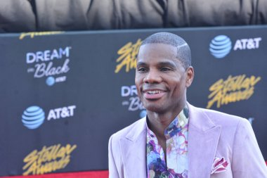 Kirk Franklin walk the red carpet during the 34th annual Stellar Awards in Las Vegas Nevada on March 29, 2019.  Photo Credit:  Marty Jean-Louis