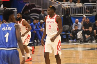Orlando Magic hosts the Houston Rockets at the Amway Arena on Sunday January 13, 2019.  Photo Credit:  Marty Jean-Louis