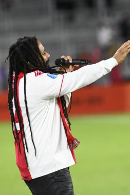Bob Marley's Son Ky-Mani Marley Performs during Florida Cup at Orlando City Stadium on Thursday January 10, 2019.  Photo Credit:  Marty Jean-Louis, 2019.  Photo Credit:  Marty Jean-Louis