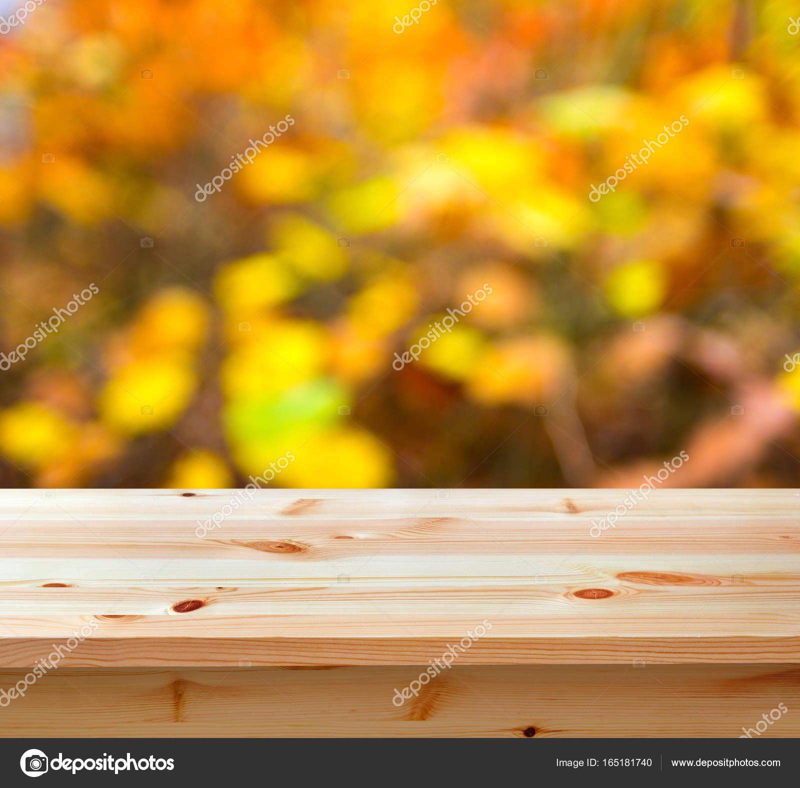 Boş Tablo Sonbahar Doğa Arka Plan Ile Stok Foto Swavo 165181740