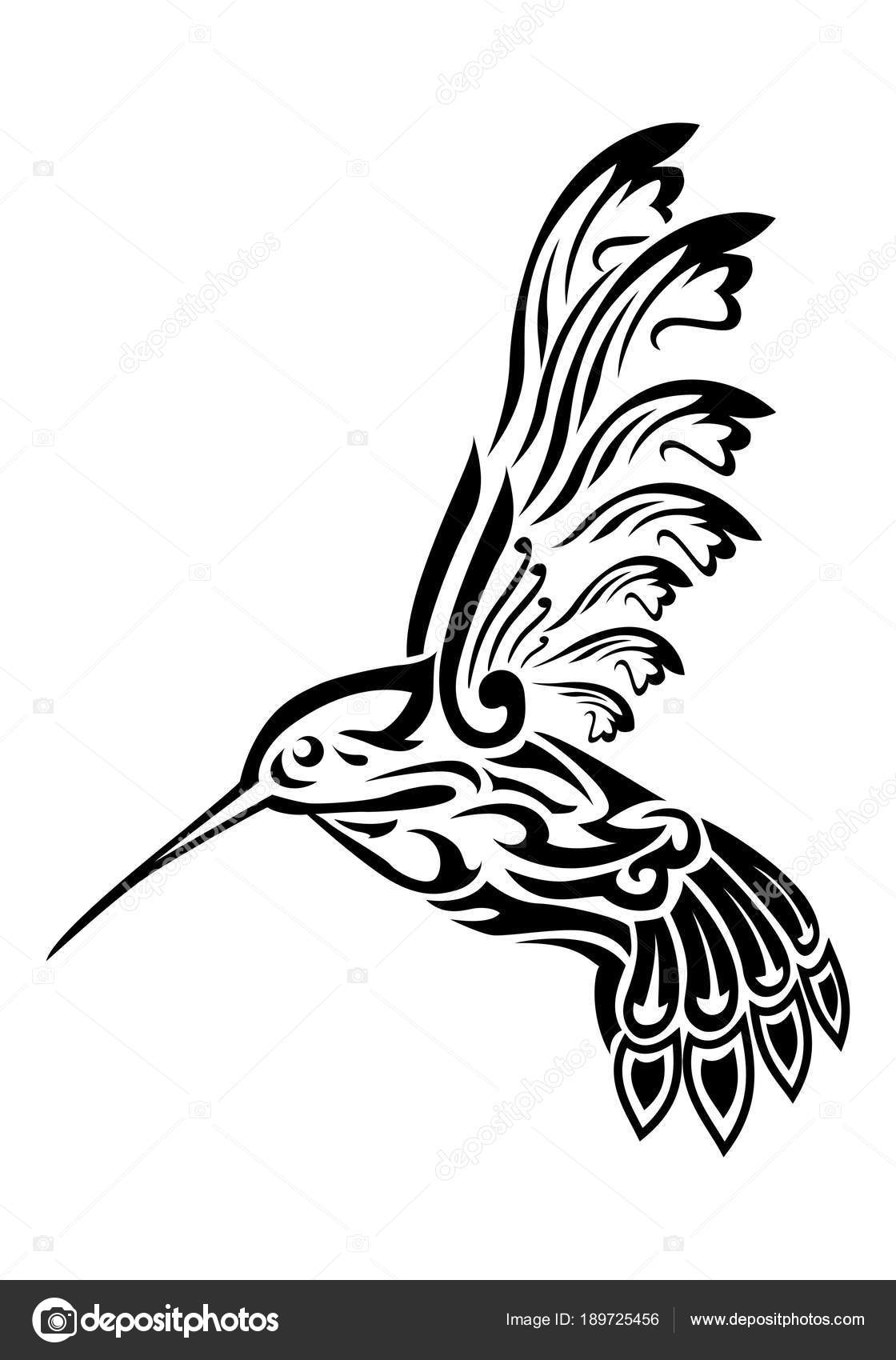 Tatouage Oiseau De Bourdonnement Photographie Onionime C 189725456