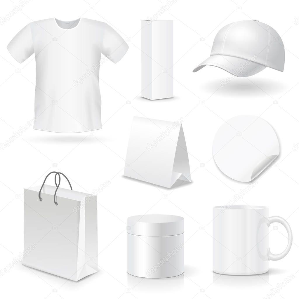 Leere Business corporate Identity Vorlagen, Geschenke, Verpackung ...