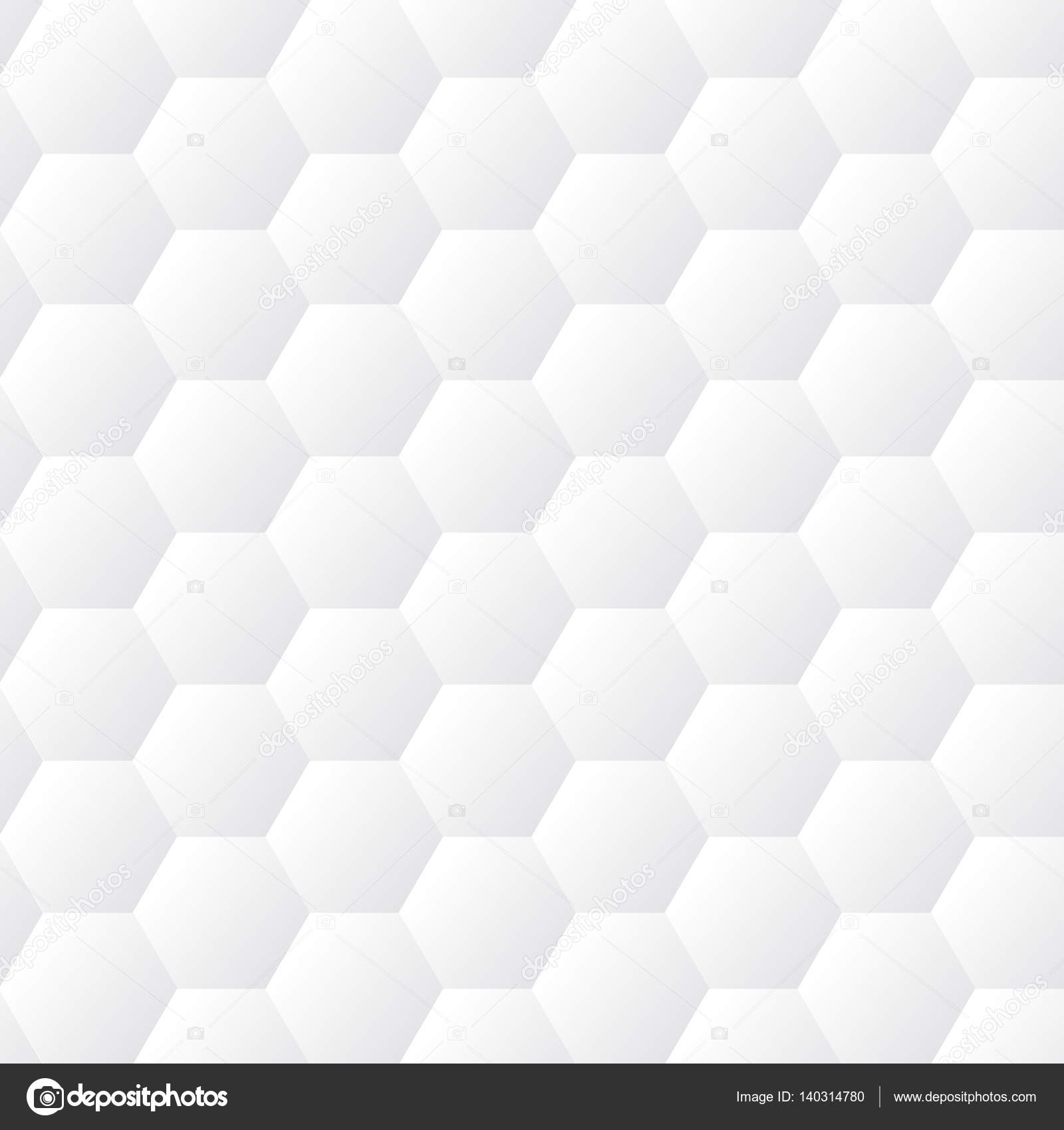 Seamless dented hexagons white wall texture. Honeycomb ...