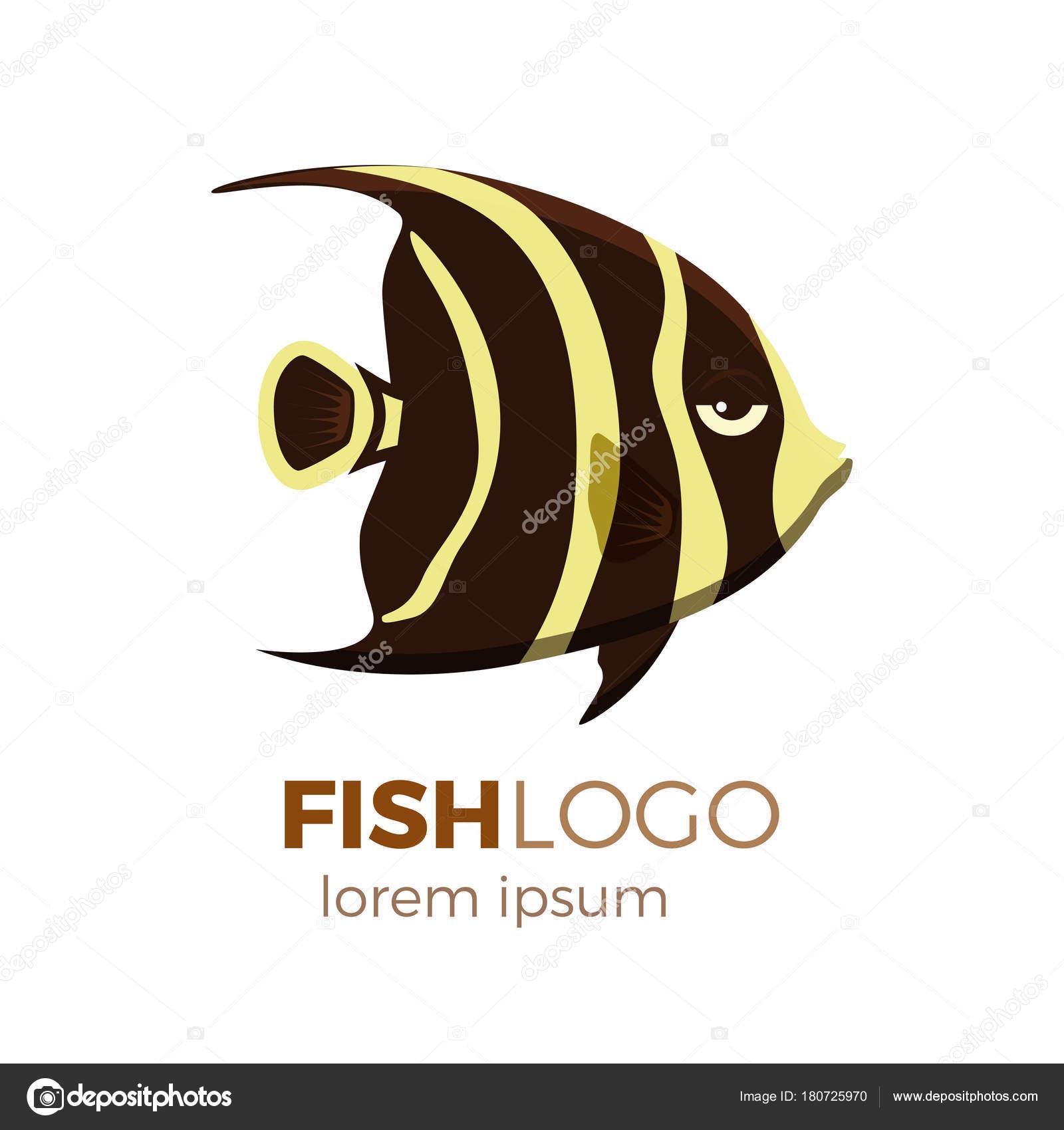 Cute Fish Vector Illustration Icons Set Tropical Fish Sea Fish