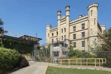 Former state penitentiary on route 66 in Joliet, Illinois.