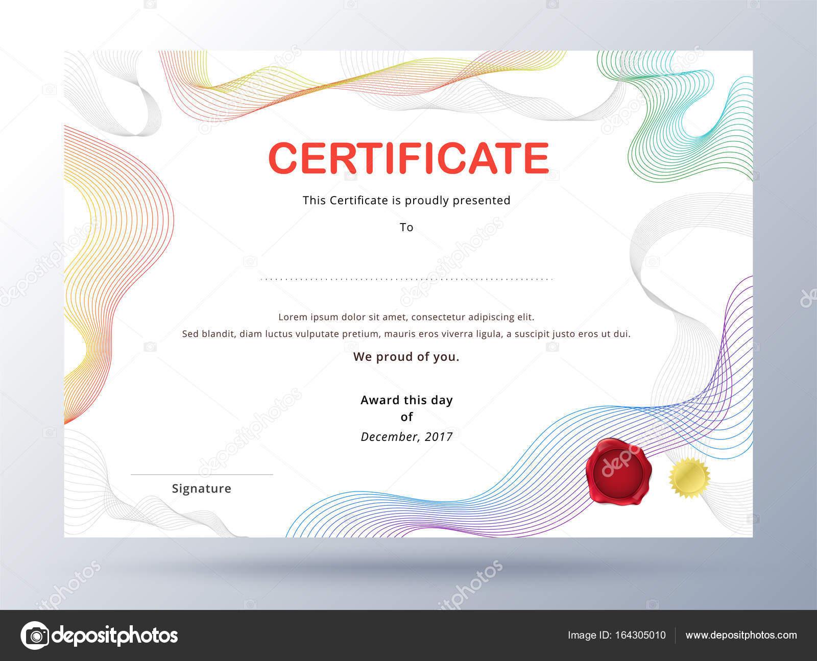 business certificate template