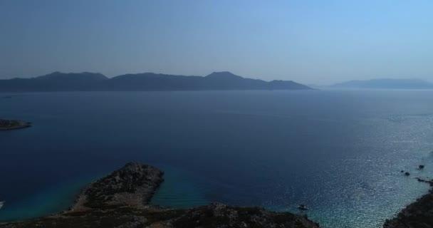 Akdeniz Kıyısında Yüksek İrtifa Uçağı