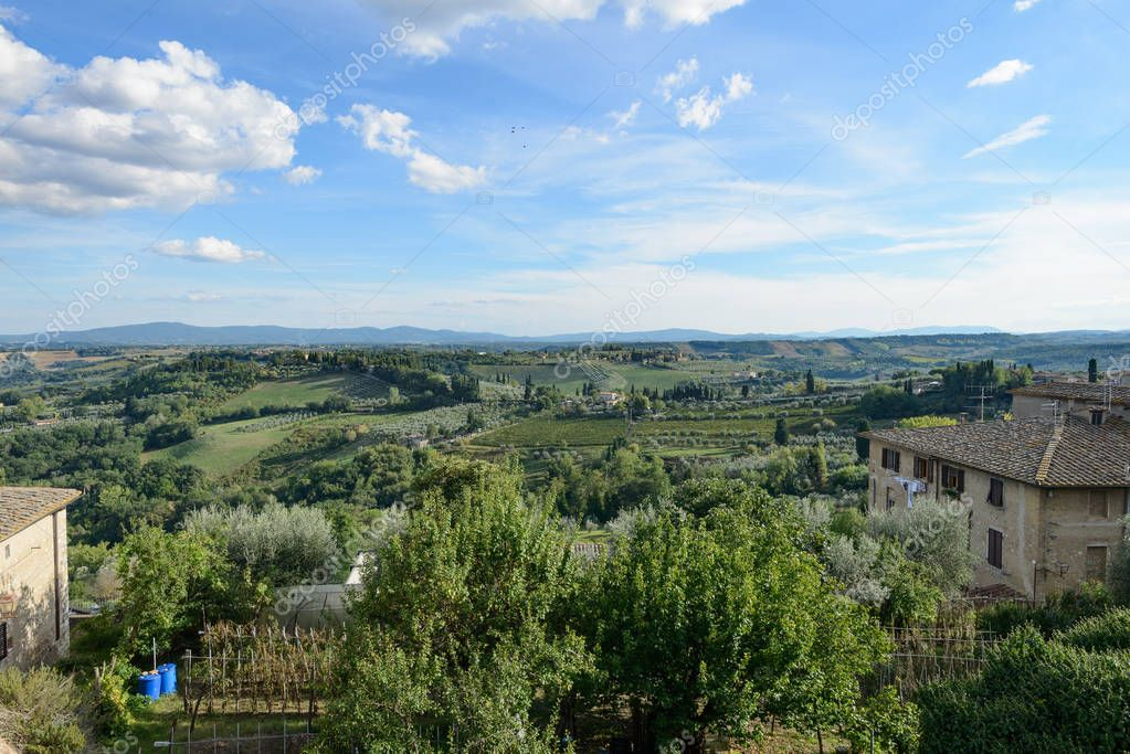 San Gimignano landscape