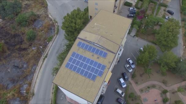 Abstraktní a konceptuální fotovoltaických panelů