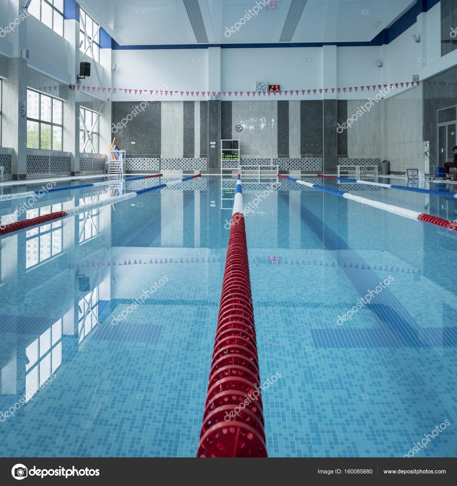Public Indoor Swimming Pool. U2014 Stock Photo